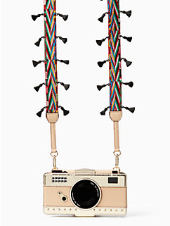 camera leather applique folio iphone 7 case by kate spade new york
