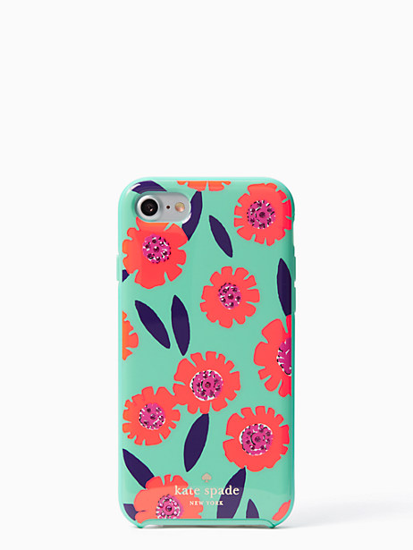 Kate Spade Jeweled Majorelle Iphone 7 Case, Garden Mint