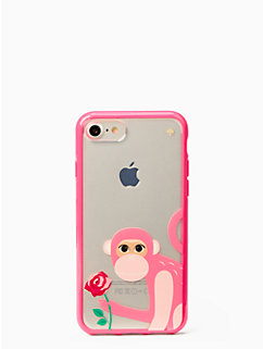 monkey with rose iphone 7 by kate spade new york