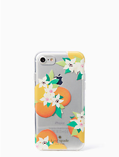 orange blossoms iphone 7 case by kate spade new york