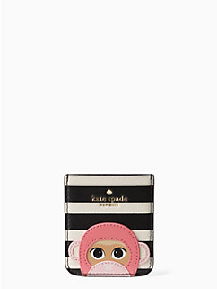 monkey applique pocket by kate spade new york