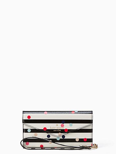 Kate Spade Confetti Dot Envelope Iphone 7 Wristlet