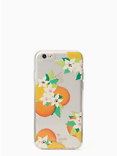 orange blossoms iphone 6 case by kate spade new york