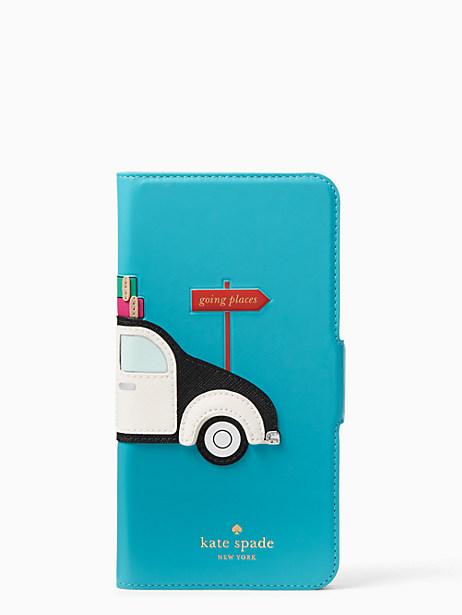 reputable site 9060b dfda9 Car Applique Folio-Iphone 7Plus Case