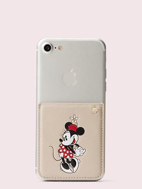 kate spade new york for minnie mouse sticker pocket by kate spade new york