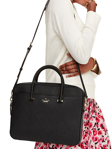 "13"" saffiano laptop bag by kate spade new york"