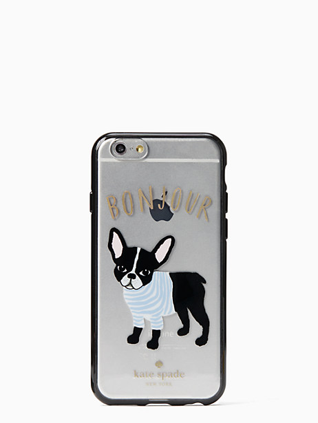 Kate Spade Bonjour Antoine Iphone 6 Case, Clear