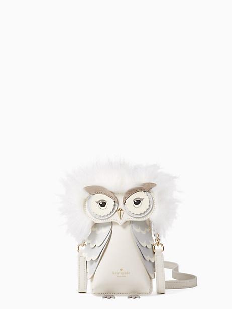 Kate Spade Owl Phone Crossbody