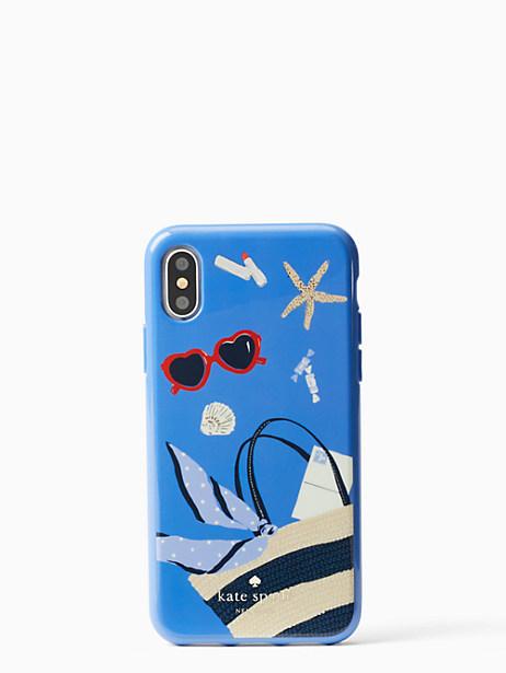 Kate Spade Beach Bag Iphone Cases X Case, Blue