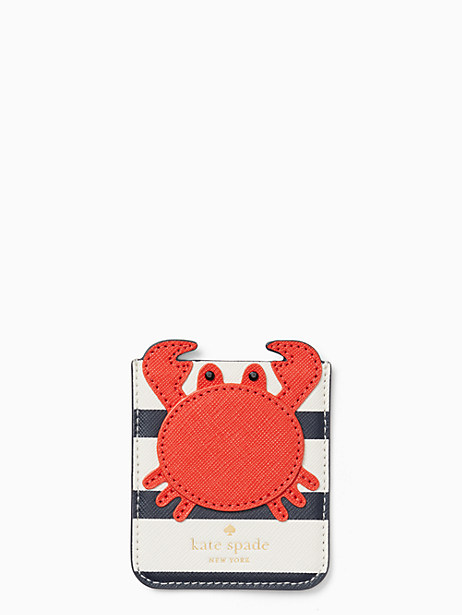 crab sticker pocket by kate spade new york