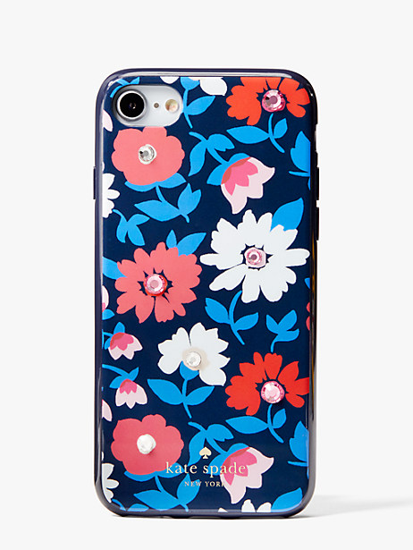 jeweled daisy iphone cases 7 & 8 case by kate spade new york