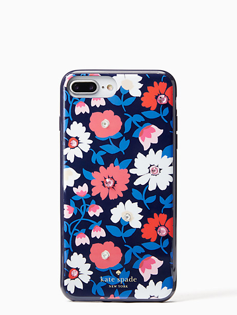 jeweled daisy iphone cases 7 & 8 plus case by kate spade new york