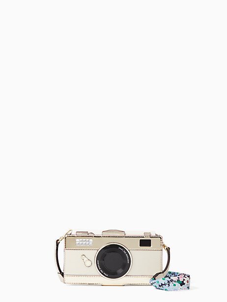 camera folio with daisy strap iphone x case by kate spade new york