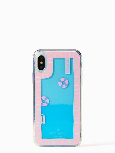 pool and floaties iPhone X case by kate spade new york