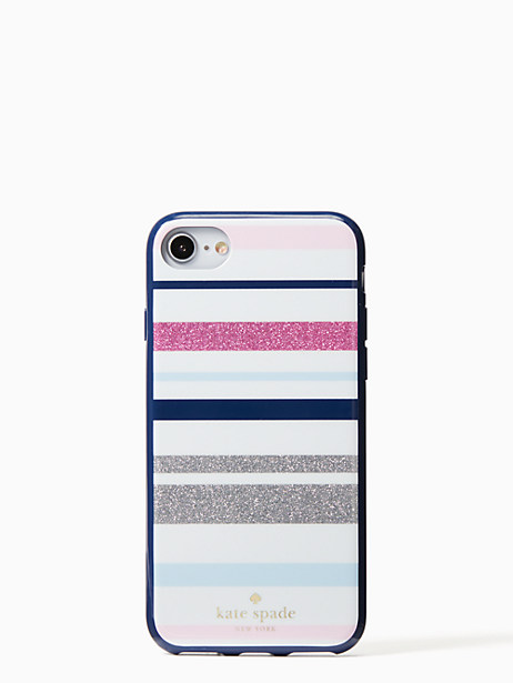 Kate Spade Desert Stripe Iphone 7 & 8 Case, Blue