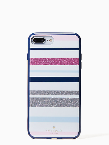 Kate Spade Desert Stripe Iphone 7 & 8 Plus Case, Blue