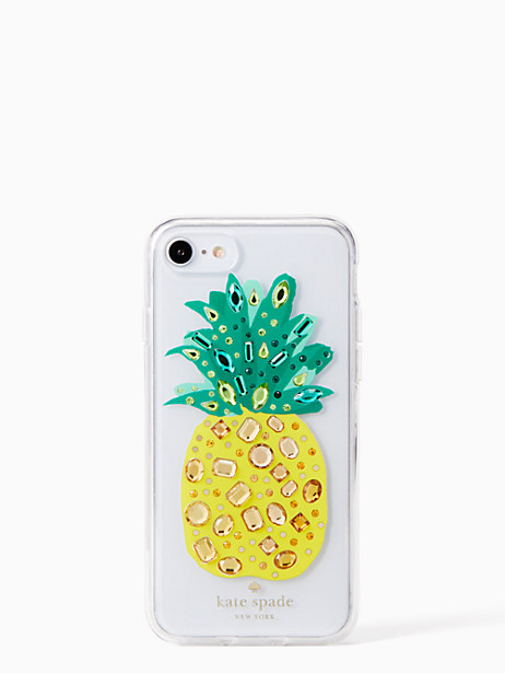jeweled pineapple iPhone 7 & 8 case by kate spade new york