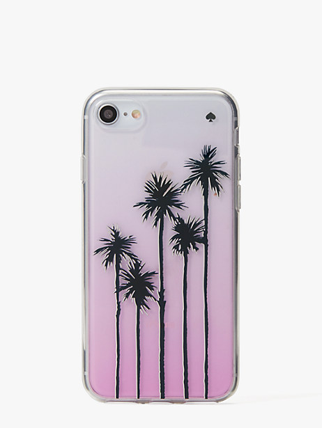 palm tree ombre iphone 8 case by kate spade new york