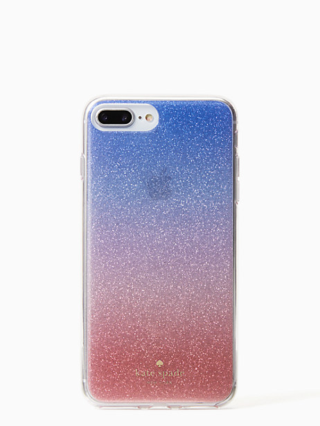 sunset glitter ombre iphone 8 plus case by kate spade new york