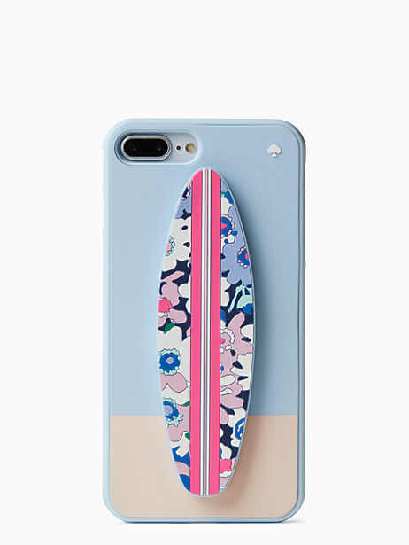 silicone surfboard stand iphone 8 plus case by kate spade new york