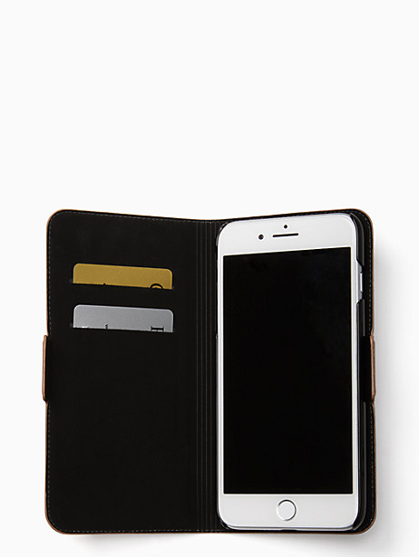 rabbit applique iphone 7 & 8 plus folio case by kate spade new york