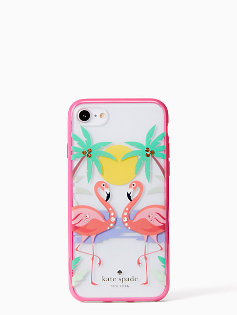 jeweled flamingos iPhone 7 & 8 case by kate spade new york