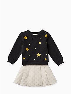 babies' star sweatshirt set by kate spade new york