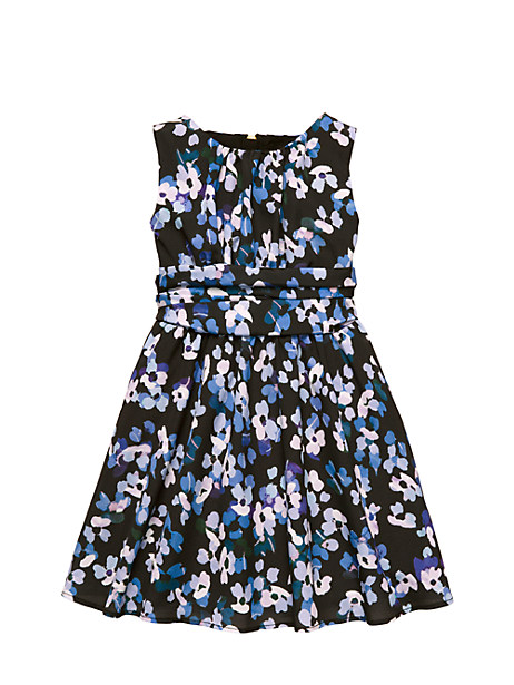 Kate Spade Toddlers' Floral Dress, Hyrangea - Size 4