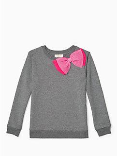 girls' dorothy sweatshirt by kate spade new york