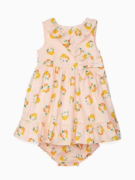 Kate Spade Babies' Orangerie Dress Set, Orangerie - Size 18M