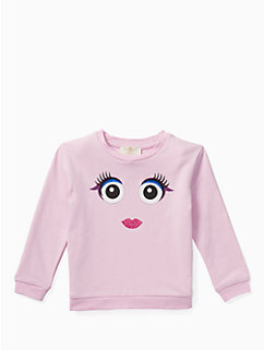 toddlers' monster sweatshirt by kate spade new york