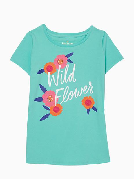 Kate Spade Toddlers' Wild Flower Tee, Garden Mint - Size 2