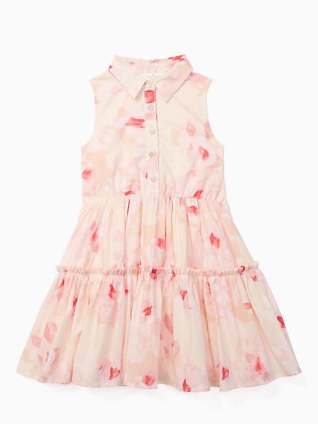 Kate Spade Girls' Shirtdress, Desert Rose - Size 10