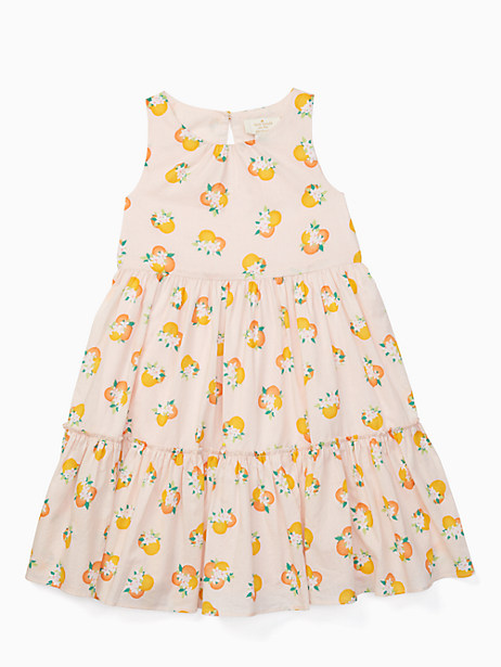 Kate Spade Girls' Orangerie Midi Dress, Orangerie - Size 10