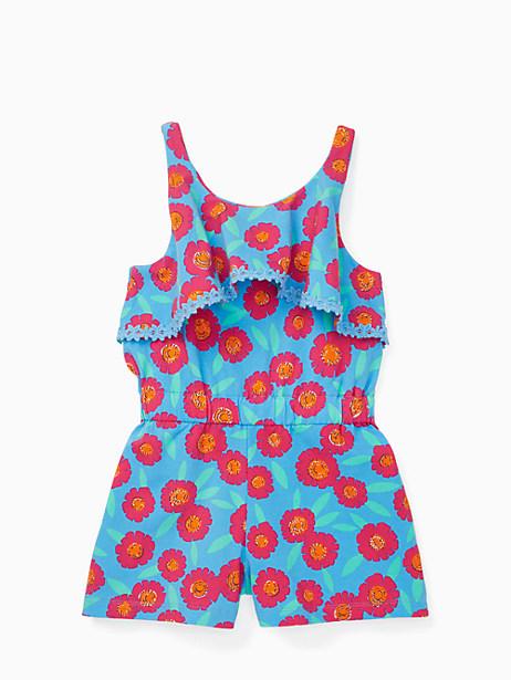 Kate Spade Girls' Romper, Tangier Floral - Size 12