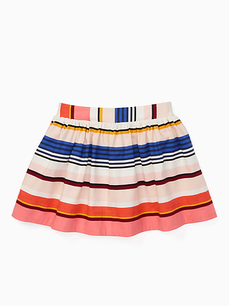 Kate Spade Girls' Coreen Skirt, Berber Stripe - Size 10