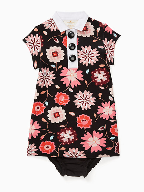 Kate Spade Babies' Collared Shift Dress Set, Size 12M