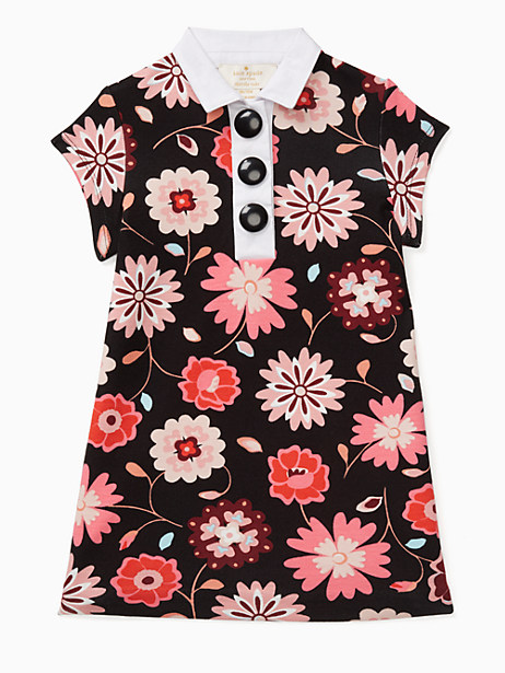 Kate Spade Girls' Collared Shift Dress, Size 10