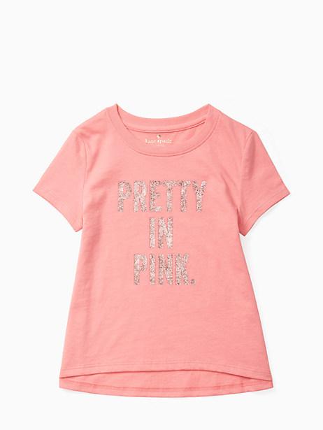 Kate Spade Girls' Pretty In Pink Swing Tee, Berber Pink - Size 12