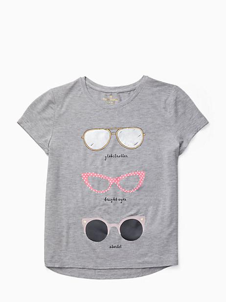 girls' sunglasses tee by kate spade new york