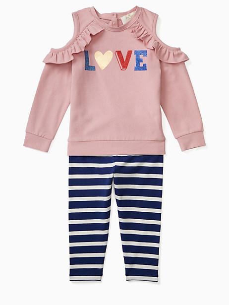 infant love legging set by kate spade new york