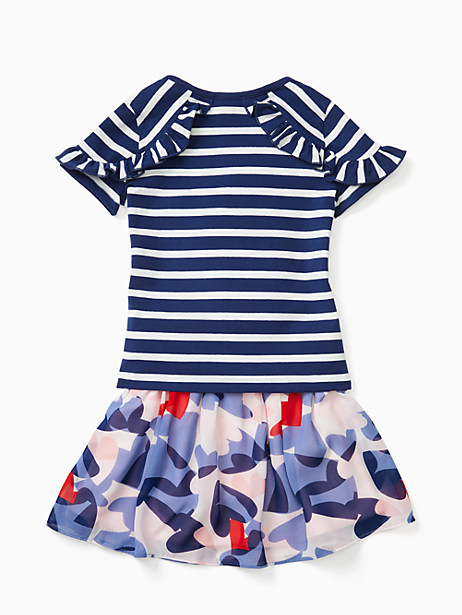 toddler confetti hearts skirt set by kate spade new york