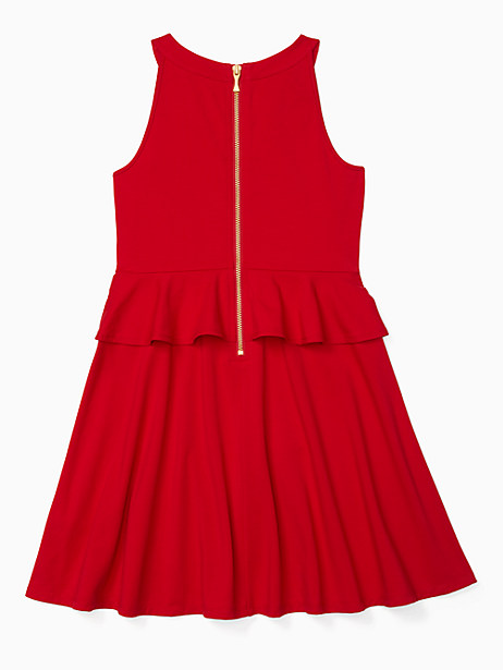 girls peplum waist dress by kate spade new york