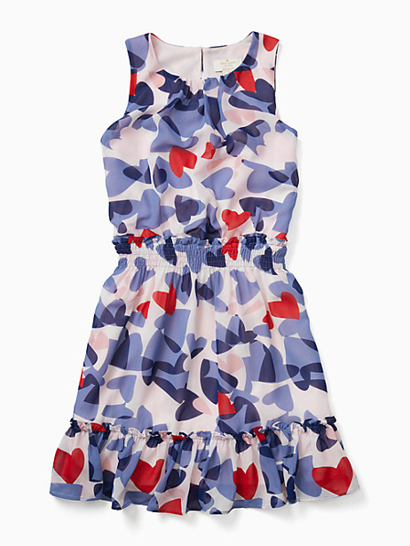 girls confetti hearts dress by kate spade new york