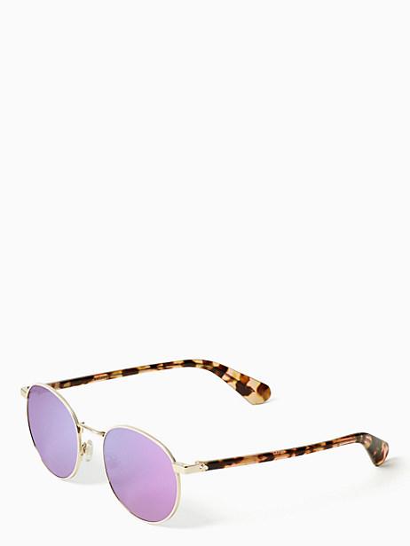 Kate Spade Adelais Sunglasses, Pink Havana