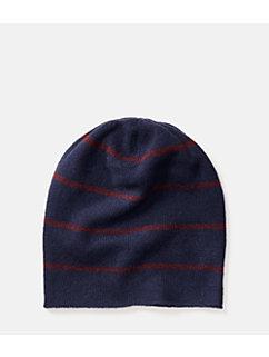 Striped Cashmere Hat