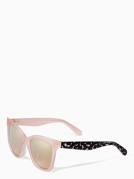 Kate Spade Emmylou Sunglasses, Pink/Black