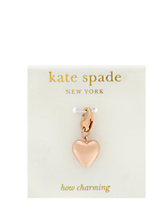 heart charm by kate spade new york
