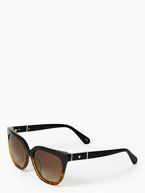 Kate Spade Kahli Sunglasses, Black Havana