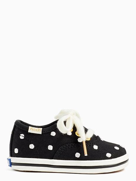 keds kids x kate spade new york champion dancing dot crib sneakers by kate spade new york